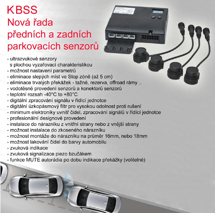 KBSS parkovací čidla