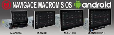 Navigace Macrom s operačním systémem Android