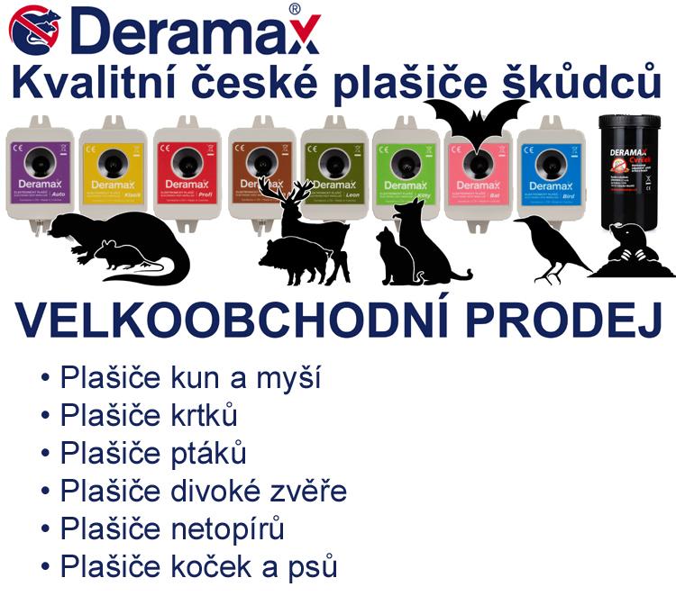 Deramax Plašiče škůdců