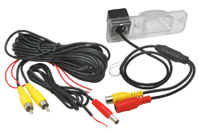 CMOS parkovací kamera VW Transporter T4 - obsah balení