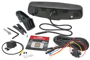 EV2R-043LAD HD DVR přední+zadní kamera - obsah balení