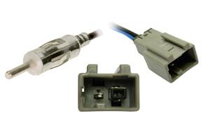 Anténní adaptér Honda / Mazda / Suzuki - DIN - Detail konektoru
