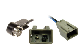 Anténní adaptér Honda / Mazda / Suzuki - ISO - Detail konektoru