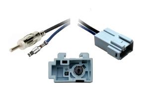 Anténní adaptér Honda - DIN - Detail konektoru