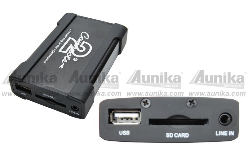 USB / AUX vstup RENAULT (09->)
