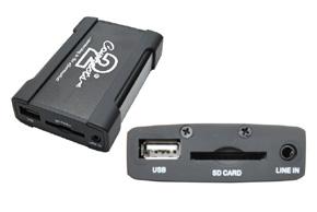 USB / AUX vstup RENAULT (09->) - detail produktu