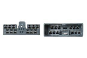 Adaptér pro HF sadu - detail konektoru