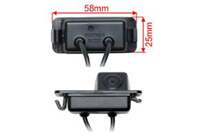 CCD parkovací kamera Ford - rozměry