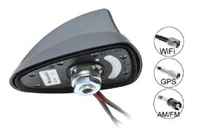 SHARK 2 TWIFI&SAT AM/FM+WIFI+GPS anténa