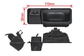 CCD parkovací kamera BMW 3 - rozměry