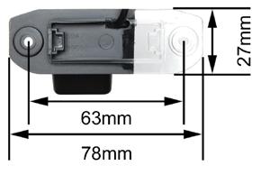 Rozměry kamery