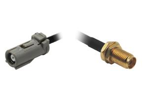 Anténní adaptér PIONEER - SMA - detail konektorů