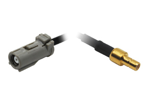 Anténní adaptér PIONEER - SMB detail konektoru