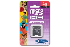 Micro SD karta 4GB - balení