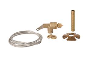 Manuální ventil typ 129 - obsah balení