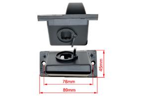 CCD parkovací kamera HYUNDAI H1 - rozměry