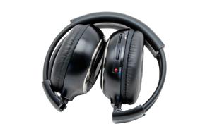Macrom M-HP11 IR sluchátka - složený stav