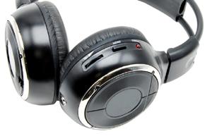 Macrom M-HP11 IR sluchátka - detail