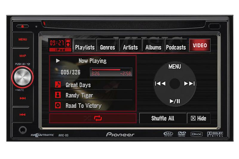 DVD Pioneer AVIC X1R