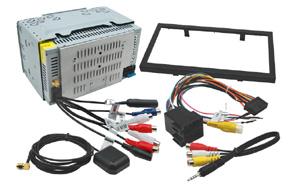 TELEFUNKEN TF-AS9080 AV jednotka 2DIN - obsah balení