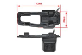 221903 CCD parkovací kamera Honda Accord (11->) - rozměry