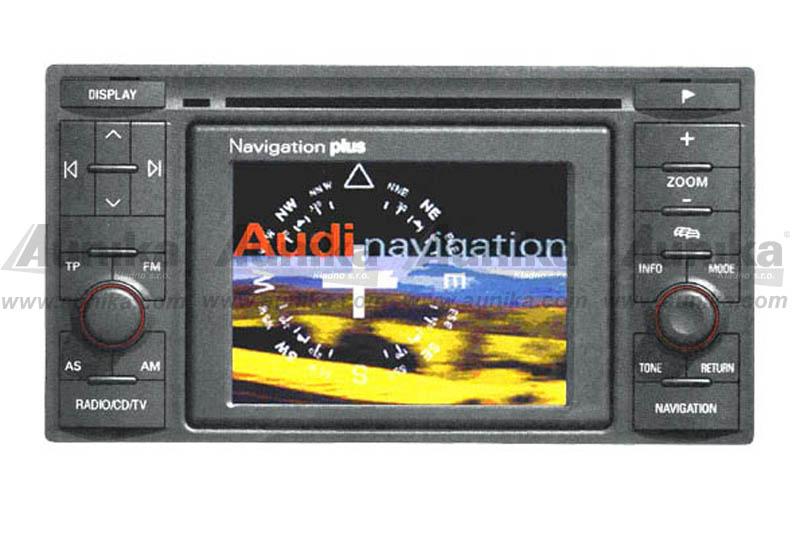AUX vstup pro OEM navigace VW / AUDI / ŠKODA