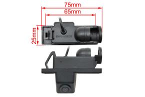 221942 CCD parkovací kamera Mercedes Vito / Sprinter - rozměry
