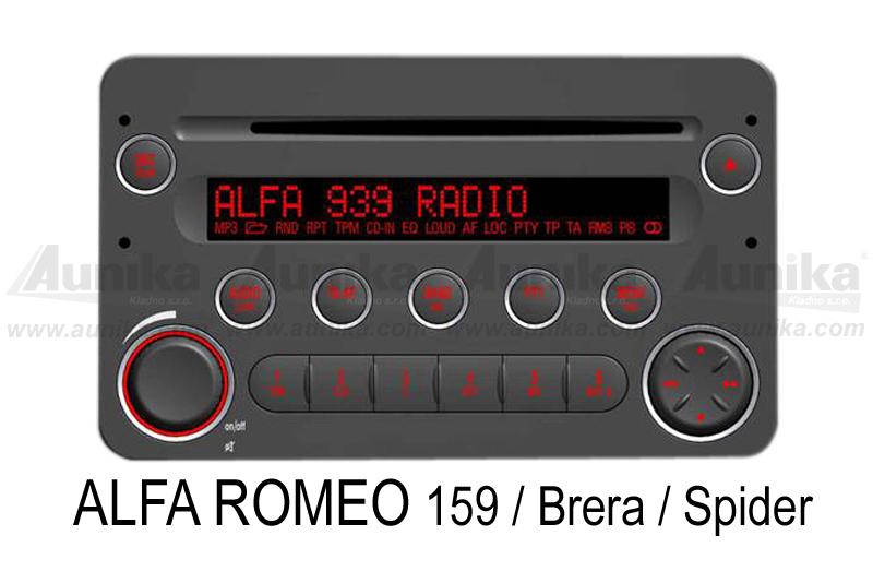 AUX vstup pro autorádia Fiat / Alfa