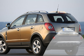 CCD parkovací kamera Opel Antara