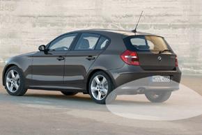 CCD parkovací kamera BMW 1 - na automobilu