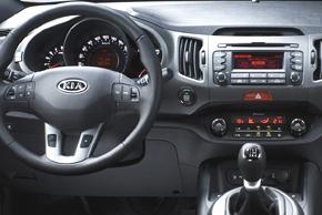 Kia Sportage III. - interiér