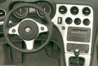 Alfa Romeo Spider - interiér