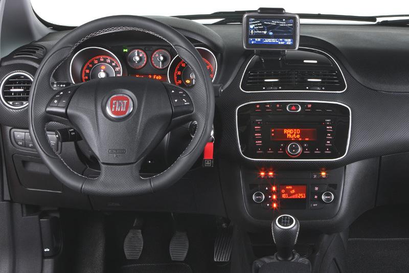 Rámeček autorádia FIAT Punto EVO