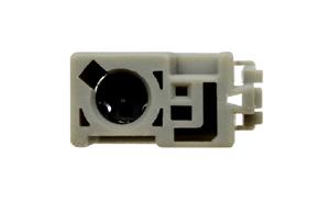 Anténní adaptér pro autorádia HONDA - ISO - detail konektoru