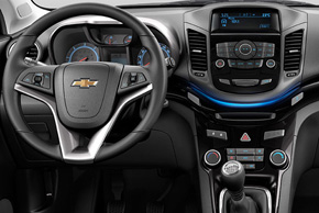 Chevrolet Orlando (11->) - interiér automobilu