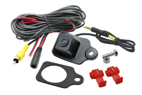 CCD parkovací kamera Subaru Legacy Sedan - obsah balení