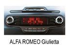 Alfa Romeo Giulietta autorádio Blaupunkt