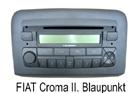 Fiat Croma II. autorádio Blaupunkt