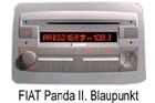 Fiat Panda autorádio Blaupunkt