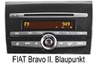 Fiat Bravo II. autorádio Blaupunkt