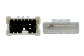 Adaptér pro ovládání na volantu Renault Megane III. (12->) - detail konektoru