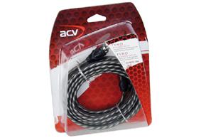 TYRO TY-300 signálový kabel 2x RCA 300cm - balení