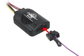 Propojovací kabel pro autorádia PANASONIC -  připojení adaptéru