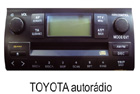 Toyota autorádio 1