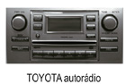 Toyota autorádio 2