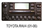 Toyota autorádio RAV4