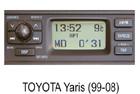 Toyota autorádio Yaris (99-08)