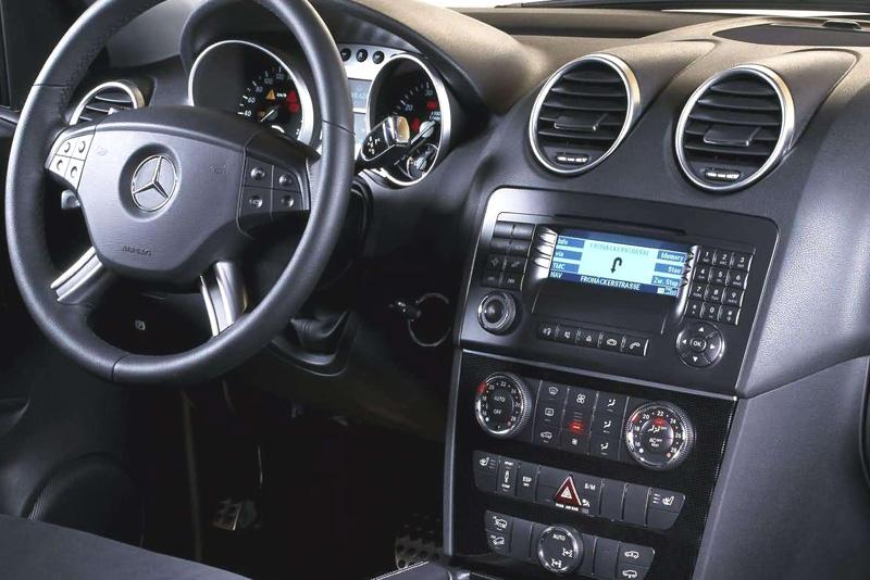 Rámeček autorádia Mercedes M-Class