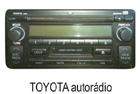 Toyota autorádio 3