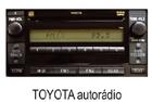 Toyota autorádio 5